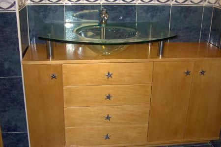 Mueble bano madera ebanister a ostal - Mueble bano madera ...